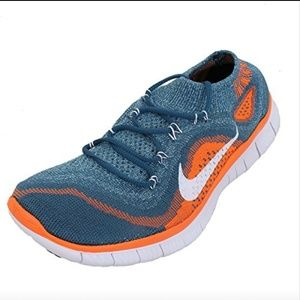 Womens Nike Free Flyknit + Glacier Ice White Atomi